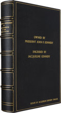 Books:Signed Editions, Presidential Inaugural Addresses: A Bound Volume Once Owned by President John F. Kennedy....