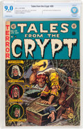 Golden Age (1938-1955):Horror, Tales From the Crypt #29 (EC, 1952) CBCS VF/NM 9.0 Off-whitepages....