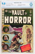 Golden Age (1938-1955):Horror, Vault of Horror #22 (EC, 1951) CBCS VF/NM 9.0 Off-white to whitepages....