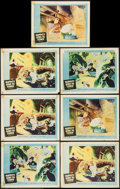 """Movie Posters:Animation, Mr. Bug Goes to Town & Other Lot (NTA Pictures, R-1959). Lobby Cards (7) (11"""" X 14"""") & One Sheet (27"""" X 41""""). Animation. Rei... (Total: 8 Items)"""