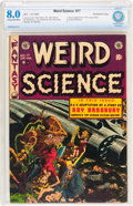 Golden Age (1938-1955):Science Fiction, Weird Science #17 Northford Copy pedigree (EC, 1953) CBCS VF 8.0Cream to off-white pages....