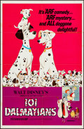 "Movie Posters:Animation, 101 Dalmatians (Buena Vista, R- 1972). One Sheet (27"" X 41"").Animation.. ..."