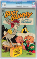 Golden Age (1938-1955):Cartoon Character, Four Color #317 Bugs Bunny (Dell, 1951) CGC NM/MT 9.8 Off-white to white pages....