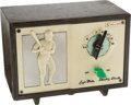 Baseball Collectibles:Others, Circa 1962 Roger Maris & Mickey Mantle Tube Radio. ...