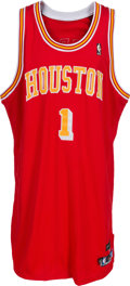 Basketball Collectibles:Uniforms, 2004-05 Tracy McGrady Game Worn Houston Rockets Jersey. ...