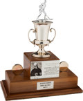 Hockey Collectibles:Others, 1987-88 Jack Adams Award (Coach of the Year) Trophy Presented to Jacques Demers....