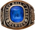 Hockey Collectibles:Others, 1984 Hockey Hall of Fame Ring Presented to Bernie Parent....