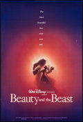 """Movie Posters:Animation, Beauty and the Beast & Other Lot (Buena Vista, 1991). One Sheets (2) (27"""" X 40"""", 27"""" X 41"""") DS & SS Advance. Animation.. ... (Total: 2 Items)"""