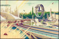 "Movie Posters:Adventure, Tomorrowland by Kevin Tong (Mondo, 2015). Numbered Limited EditionScreen Print (24"" X 36""). Science Fiction.. ..."