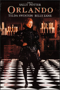 """Orlando & Others Lot (Sony Pictures Classics, 1992). One Sheets (8) (26.5"""" X 40.5"""", 27"""" X 40"""", 2..."""
