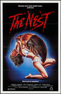 """The Nest & Other Lot (Concorde/Trinity, 1988). One Sheets (2) (27"""" X 41""""). Science Fiction. ... (Total: 2..."""