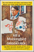 "To Kill a Mockingbird (Universal, 1963). One Sheet (27"" X 41""). Drama"