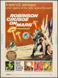 "Movie Posters:Science Fiction, Robinson Crusoe on Mars (Paramount, 1964). Poster (30"" X 40"").Science Fiction.. ..."