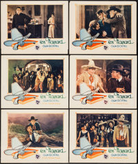 "Gun Gospel (First National,1927). Lobby Cards (6) (11"" X 14""). Western. ... (Total: 6 Items)"