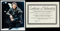 "Kevin Costner in Robin Hood: Prince of Thieves (Warner Brothers, 1991). Autographed Portrait Photo (8"" X 10"")..."