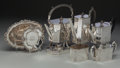 Silver Holloware, American:Tea Sets, A Historic Five Piece Shreve, Crump & Low Silver Tea and CoffeeService with Two Reed & Barton Francis I Bowls, Boston, Mas...(Total: 7 Items)