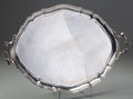 Silver Holloware, French:Holloware, A Puiforcat Silver Serving Tray, Paris, France, 19th century. Marks: (E-pen knife-P), (Minerva). 26-7/8 inches wide x 20-1/8...