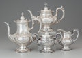 Silver & Vertu:Hollowware, A Four Piece Reed and Barton Francis I Pattern Silver Tea and Coffee Service, Taunton, Massachusetts, designed 1... (Total: 4 )