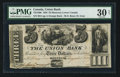 Canadian Currency: , Montreal, LC- Union Bank $3 August 1, 1838 Ch. # 725-16-06. ...