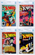 Modern Age (1980-Present):Superhero, X-Men Group of 7 (Marvel, 1982-85) Condition: CBCS NM+ 9.6....(Total: 7 Comic Books)