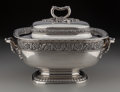 Silver Holloware, American:Entrée Dishes, A Tiffany & Co. Silver Covered Soup Tureen, New York, New York, circa 1883. Marks: TIFFANY & CO, 7368 MAKERS 5797, STERLIN... (Total: 2 Items)