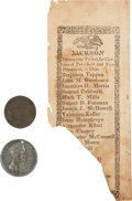 Political:Tokens & Medals, Andrew Jackson: Three Items.... (Total: 3 Items)
