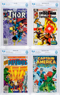 Modern Age (1980-Present):Miscellaneous, Marvel Bronze and Modern Age Comics CBCS-Graded Group of 8 (Marvel, 1976-84) Condition: CBCS NM+ 9.6 except as noted.... (Total: 8 Comic Books)