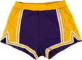 Basketball Collectibles:Others, Circa 1980 #5 Los Angeles Lakers Game Worn Shorts Attributed toDuane Cooper. ...