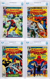 The Amazing Spider-Man CBCS-Graded Group of 12 (Marvel, 1975-79).... (Total: 12 Comic Books)