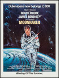 "Movie Posters:James Bond, Moonraker (United Artists, 1979). Promotional Poster (20.5"" X 27"")Advance. James Bond.. ..."