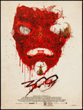 """300: Rise of an Empire by Alex Pardee (Mondo, 2014). Limited Edition Screen Print (18"""" X 24""""). Action"""