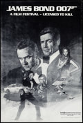 "Movie Posters:James Bond, James Bond Film Festival (MGM/UA, 1983). Film Festival Poster (18""X 27""). James Bond.. ..."