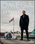 "Movie Posters:James Bond, Skyfall-Omega Watch (Omega, 2012). Advertising Poster (22"" X 28"").James Bond.. ..."