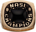Miscellaneous Collectibles:General, 1984 Chicago Sting NASL Championship Ring....