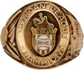 Baseball Collectibles:Others, 1944 St. Louis Browns American League Championship Ring....
