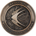 Explorers:Space Exploration, Apollo 15 Flown Silver Robbins Medallion, Serial Number 076,Originally from the Personal Collection of Astronaut EdgarMitche...