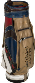 Explorers:Space Exploration, Jack Swigert's Personalized Golf Bag with Numerous RelatedAccessories. ...