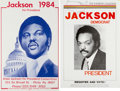 Political:Posters & Broadsides (1896-present), Jesse Jackson: Pair of Posters.... (Total: 2 Items)