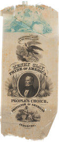 Political:Ribbons & Badges, Henry Clay: New Jersey Ribbon....