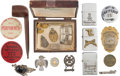 """Miscellaneous, """"Diamond Ted"""" Lewis: An Interesting Grouping of 12 Items Owned and Used by Lewis.... (Total: 12 Items)"""