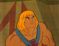 Animation Art:Production Cel, He-Man and the Masters of the Universe Production Cel Setup,Animation Drawings, and Production Folder Group of 6 (Fil...(Total: 7 Items)