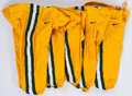 Football Collectibles:Others, 1999-2000 Green Bay Packers Game Worn Pants Lot of 5....