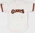 Baseball Collectibles:Uniforms, Will Clark Signed San Francisco Giants Jersey....