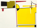, Roy Lichtenstein (American, 1923-1997). Bull VI (from theBull Profile series), 1973. Lithograph, screenprint, andl...