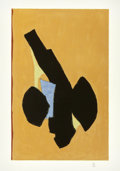 Post-War & Contemporary:Abstract Expressionism, Robert Motherwell (American, 1915-1991). Delos, 1991.Lithograph in colors on wove paper. 36-1/4 x 23-1/4 inches (92.1x...