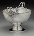 Silver Holloware, American:Other , A Ball, Black & Co. Silver Footed Ice Bowl, New York, New York,circa 1850-1875. Marks: BALL, BLACK & CO., NEW YORK,ENGLI...