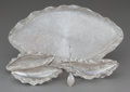 Silver Holloware, Mexican:Holloware, A Cristina Romo Castillo Silver Nudibranchs Pattern Creamer, Sugar, Spoon and Tray, Taxco, Mexico, 2015. Marks: ... (Total: 4 Items)