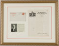 Political:3D & Other Display (1896-present), Eugene V. Debs: TLS Red Special Presentation....