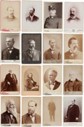 Photography:Studio Portraits, Political Figures: A Fine Group of Fifty-five Identified 19th-early 20th Century Cabinet Photos....