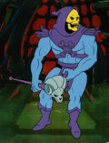 Animation Art:Production Cel, He-Man and the Masters of the Universe Skeletor ProductionCel and Animation Drawing Group (Filmation, 1984).. ... (Total: 4Items)